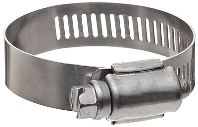Hy-Gear® 201/301 Stainless Steel 68 Worm Gear Drive Hose Clamp, 1/2 - 1 1/16 in Capacity