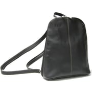 Royce Leather Vaquetta Sling Backpack Black