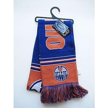 KDI – Écharpe rayée d'équipe, Oilers d'Edmonton