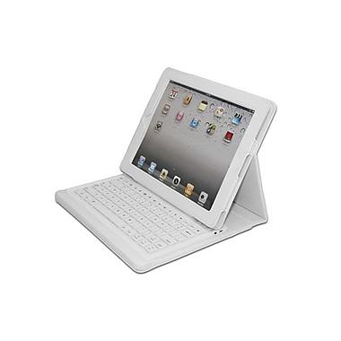 Adesso – Clavier Bluetooth 3.0 avec étui de transport pour iPad, blanc