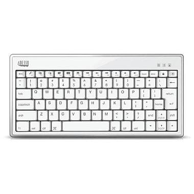 Adesso – Mini clavier Bluetooth 3.0 1010 pour iPad, blanc