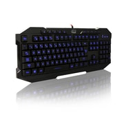 Adesso EasyTouch 135,  3-Color Illuminated Gaming Keyboard