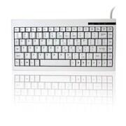 Adesso - Mini clavier ACK-595 avec pavé numérique intégré, USB, blanc