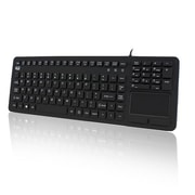 Adesso SlimTouch 270, Antimicrobial Waterproof Touchpad Keyboard