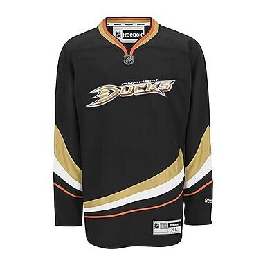 Reebok – Chandail des Ducks d'Anaheim (à domicile) de qualité supérieure, petit