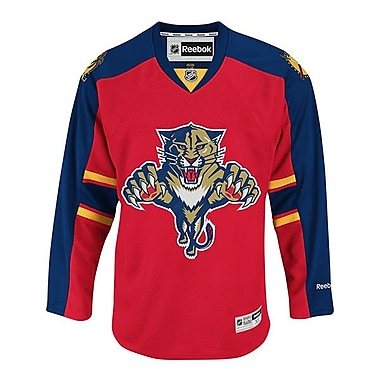 Reebok Florida Panthers, Premier Home Jersey, Large
