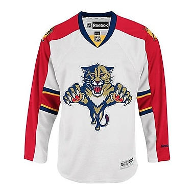 Reebok Florida Panthers, Premier Away Jersey, Medium