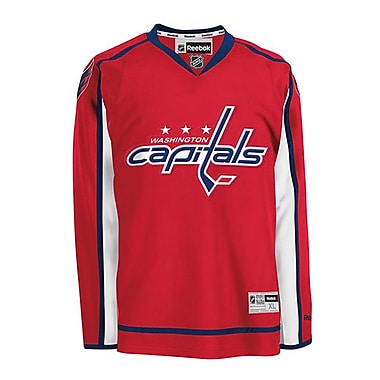 Reebok – Chandail des Capitals de Washington à domicile, grand