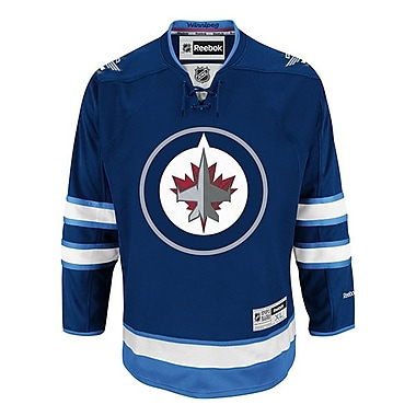 Reebok – Chandail Premier Home des Jets de Winnipeg, très grand
