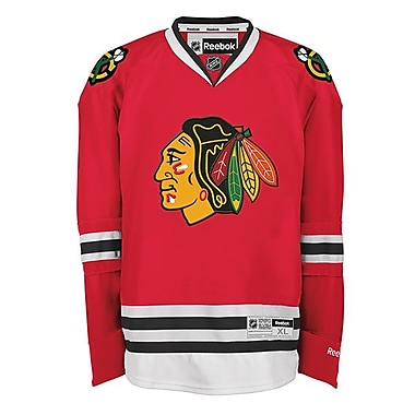Reebok Chicago Blackhawks, Premier Home Jersey, Large
