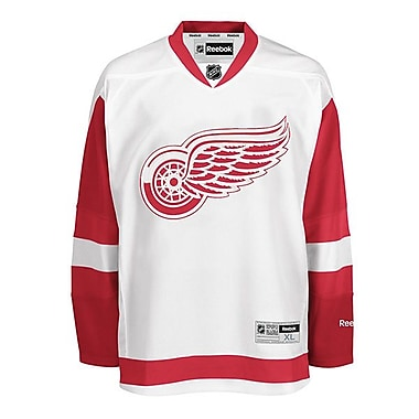 Reebok Detroit Red Wings, Premier Away Jersey, Large