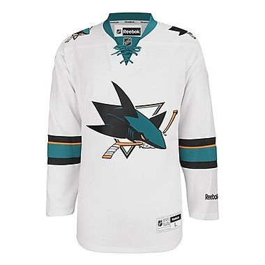 Reebok San Jose Sharks, Premier Away Jersey, XX Large