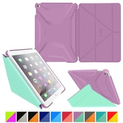 roocase Origami 3D Slim Shell Case for iPad Air 2, Radiant Orchid / Mint Candy