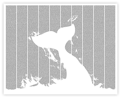 Postertext Moby Dick Graphic Art