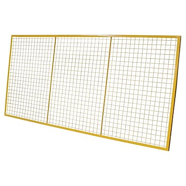 Kleton Pallet Rack Back Guards, 4' x 8', 6