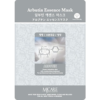 Mj Care Arbutin Essence Mask Sheet, 5/Pack