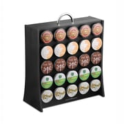Mind Reader The Wall Coffee Pod Display Rack For 50 K-Cup, Black