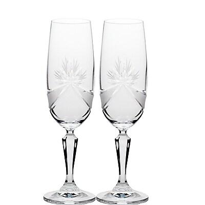 Martinka Crystalware Madame Royale Champagne Flute (Set