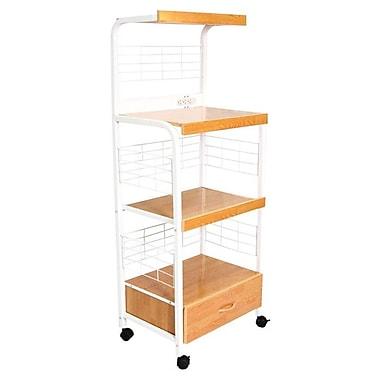ORE Furniture Microwave Cart w/ Wood Top