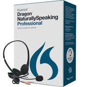 Nuance® A209A-G00 Dragon® Naturally Speaking Pro 13.0 Retail Speech Recognition Software