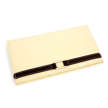 RKW Collection Genuine Leather Agenda Cover, Ivory