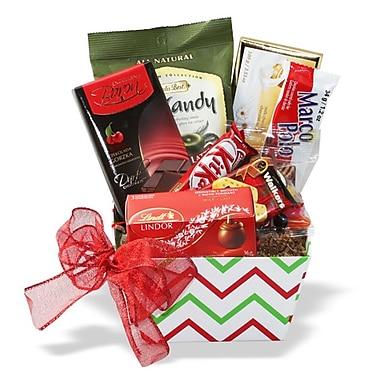 Panier-cadeau « Gâteries des Fêtes »