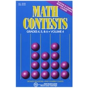 Math Contests: Grades 4, 5, & 6, Volume 4