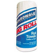 Boardwalk Perforated Paper Towel Roll , 2-Ply , White , 11 x 8 1/2 , 250 Sheets/Roll , 12 Rolls/Carton