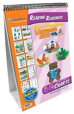 New Path Learning® Curriculum Mastery® Early Childhood ELA Readiness Flip Chart, Reading Readiness (NP-320025)