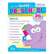 """Twin Sisters Productions """"Lets Get Ready"""" Activity Book, Grade Pre-K - 1st (TWIN4041)"""