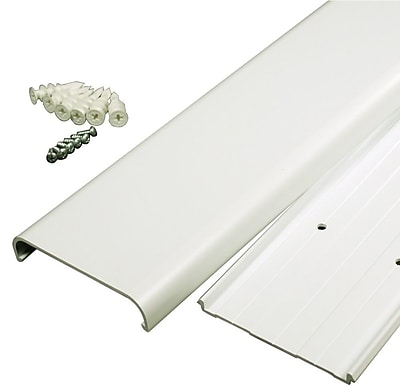 Legrand® Wiremold® Flat Screen TV Cord Cover Kit, White