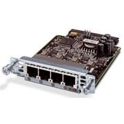 Cisco VIC2-4FXO FXO Voice/Fax Interface Card For Cisco 2800/2900/3800/3900, 4 Port