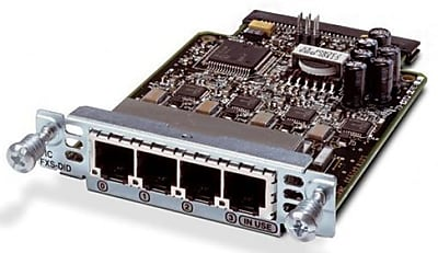 Cisco Four-Port VIC Voice Interface Card