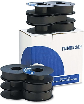 Printronix® Dot Matrix Ribbon, Black, 6/Pack