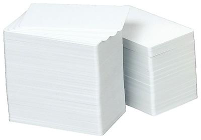 Zebra Premier Plus ID Card for All ID Card Printers, White (104524-101)