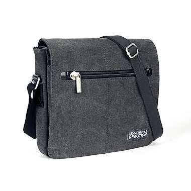 Kenneth Cole Flap-Over Day Bag, Charcoal
