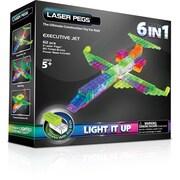 The Laser PegsMD – Trousse de construction 6 en 1, série Avions