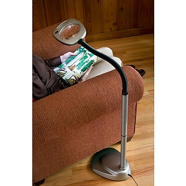 Bios LED Floor Lamp and Magnifier