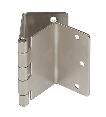 Mabis Metal Expandable Door Hinges, Satin Nickel