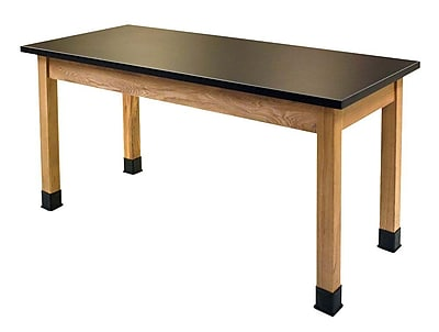 National Public Seating SLT3072-36 Science Lab Table with Chemical Resistant Top