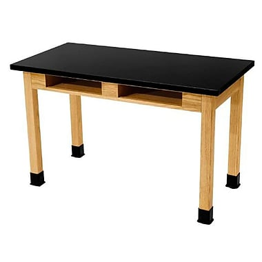 National Public Seating Science Lab Table with Chemical Resistant Top (SLT2460BC1)