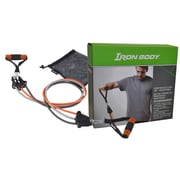 "Iron Body Fitness Adjustable Resistance Cord Set, 4' 2"""