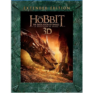 The Hobbit: The Desolation of Smaug - Extended Edition (3D Blu-Ray/Blu-Ray)