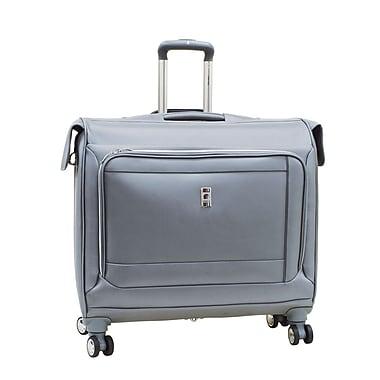 Delsey® – Valise porte-vêtements sur roues Helium Breeze 4.0, 45 po, argenté