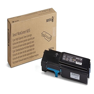 Xerox 106R02744 Cyan High Capacity Toner Cartridge
