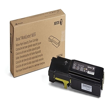 Xerox 106R02746 Yellow High Capacity Toner Cartridge