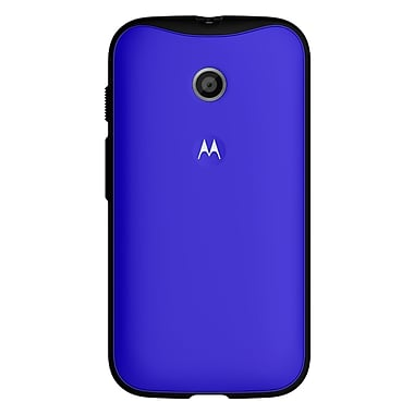 Motorola ELX Grip Series Case for Moto E, Royal Blue