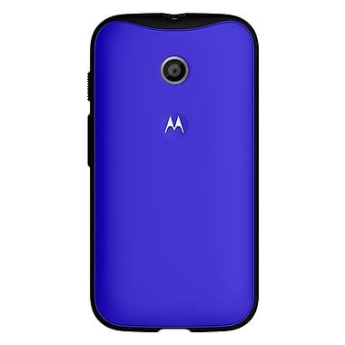Motorola – Étuis ELX Grip pour Moto E, bleu royal