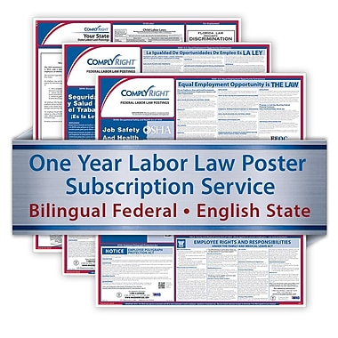 ComplyRight Bilingual Federal and English State Poster Services