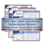 ComplyRight One Year State and Federal Poster Service, Puerto Rico -- Bilingual Federal and Spanish State Posters